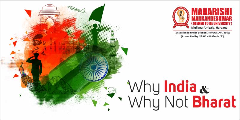Bharat or India