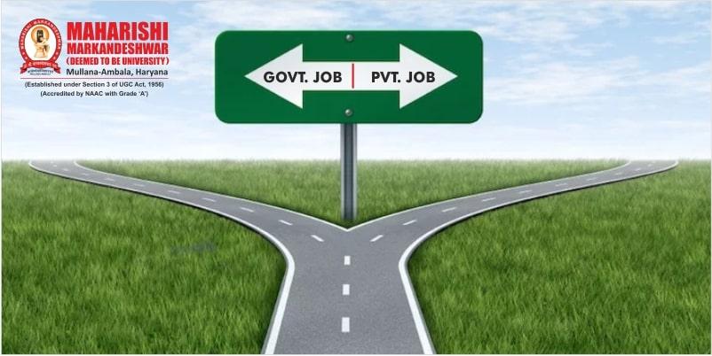 Government Job vs Private Job