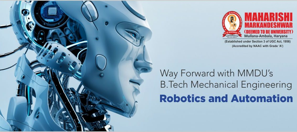 Mechanical Engineering (Robotics and Automation)
