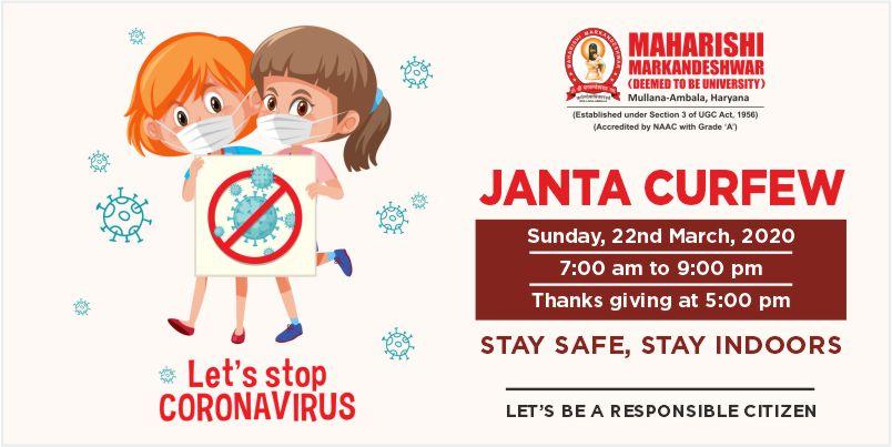 Coronavirus - Janta Karfu